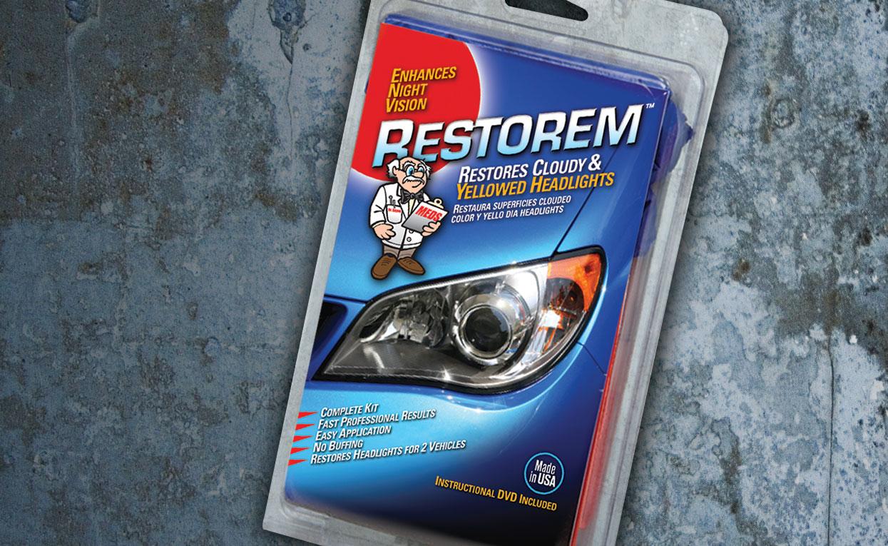 Restorem Package Design by Graphic Works in Atlanta, GA
